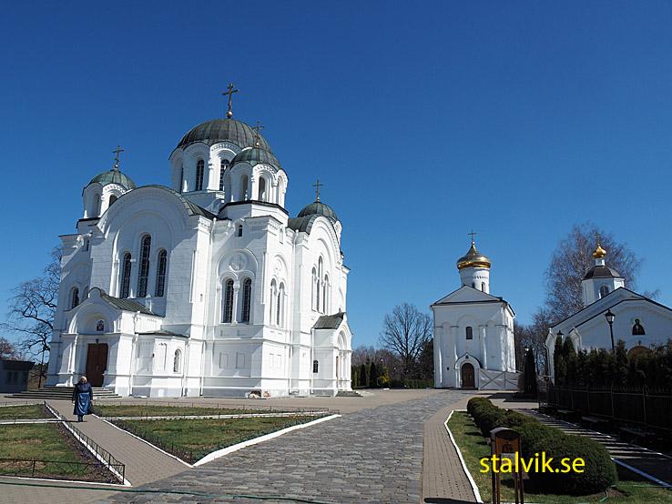 Den Heliga Ephrosinias kloster. Polotsk