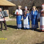 Traditionell musikgrupp. Polotsk
