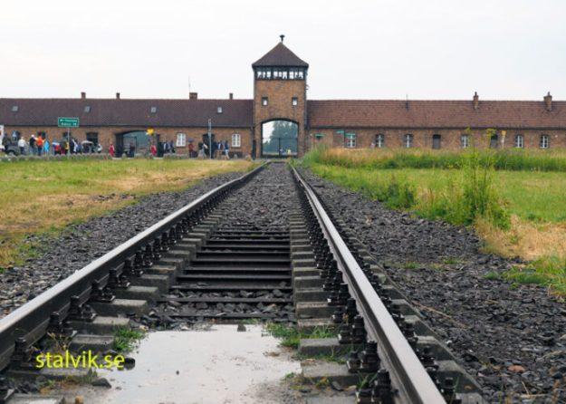 Porten. Koncentrationslägret Birkenau