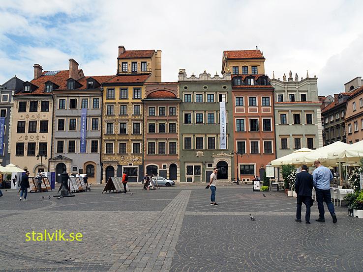 Gamla staden. Warszawa. Polen (U)