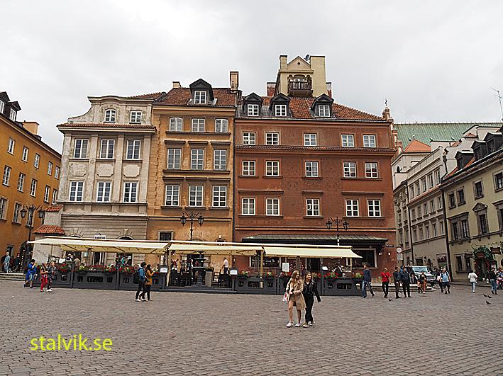 Slottstorget. Warszawa