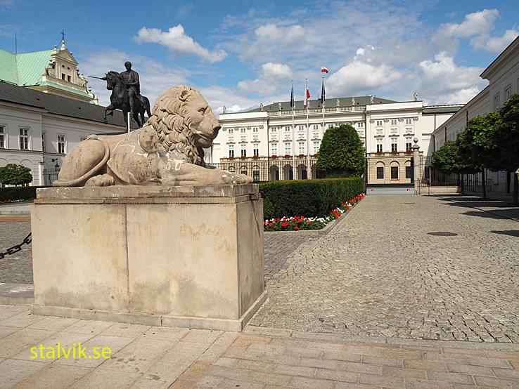 Presidentpalatset. Warszawa