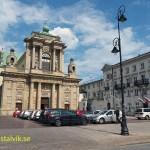 Karmeliterkyrkan. Warszawa