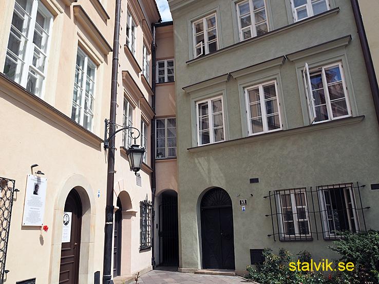 Europas smalaste hus. Warszawa (U)