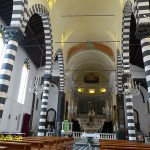 Kyrkan San Giovanni Battista. Monterosso, Cinque Terre (U)