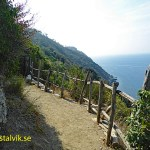 Vandringsleden till Punta Manara. Sestri Levante