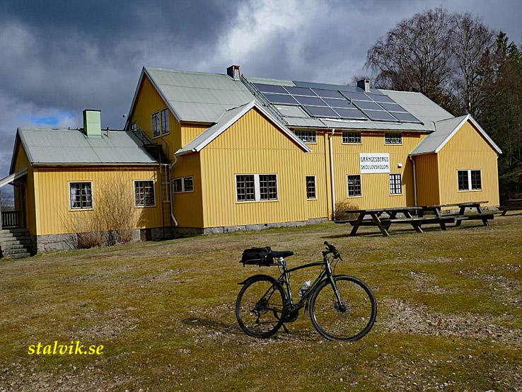 Cykla i Bohuslän. Grängesbergs barnkoloni. Öddö