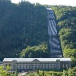 Cykla i Norge. Vemork. Rjukan