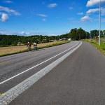 Cykla i Norge. Vestfold. Verldens ende