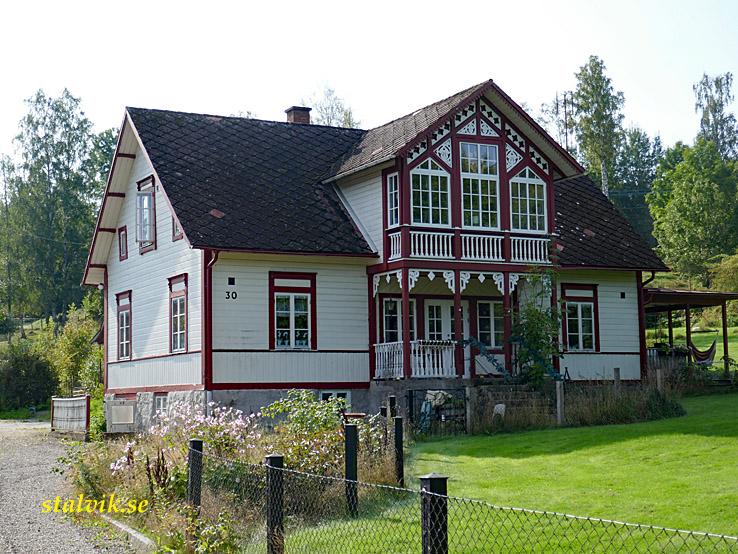 Fridafors - Karlshamn. Vackert hus, Hemsjö