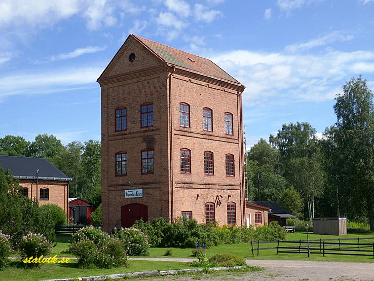 Klarälvsbanan. Den gamla kvarnen. Uddeholm