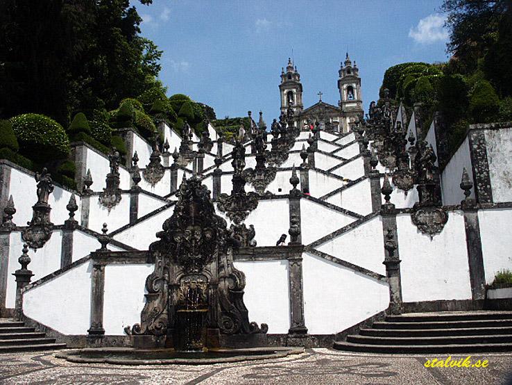 Kyrkan Bom Jesus de Monte. Braga (U)