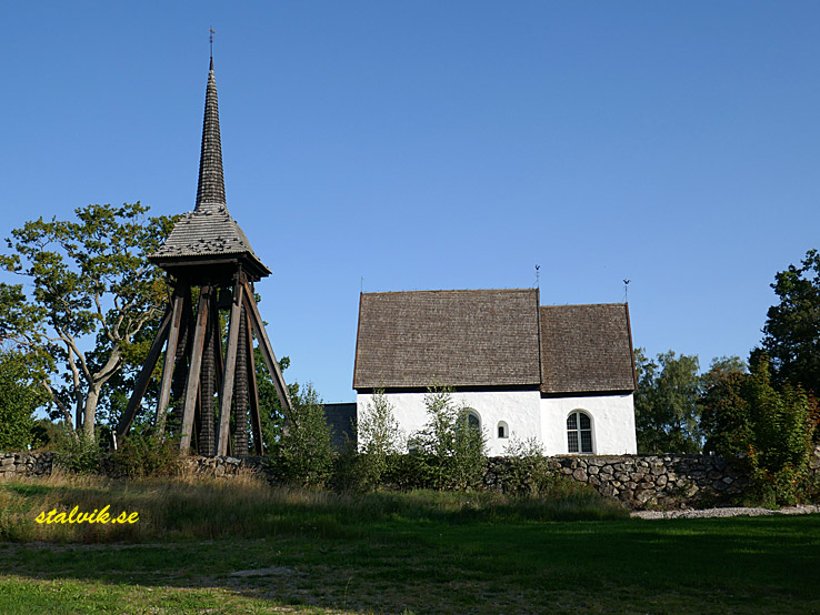 Cykla i Småland. Gamla kyrkan, Jät