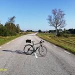 Cykla i Småland. Vederslöv - Urshult. Kalvsvik
