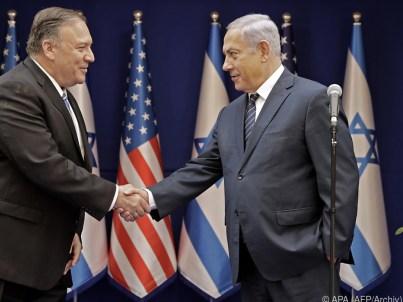 Bildergebnis für Netanjahu trifft Pompeo in Lissabon