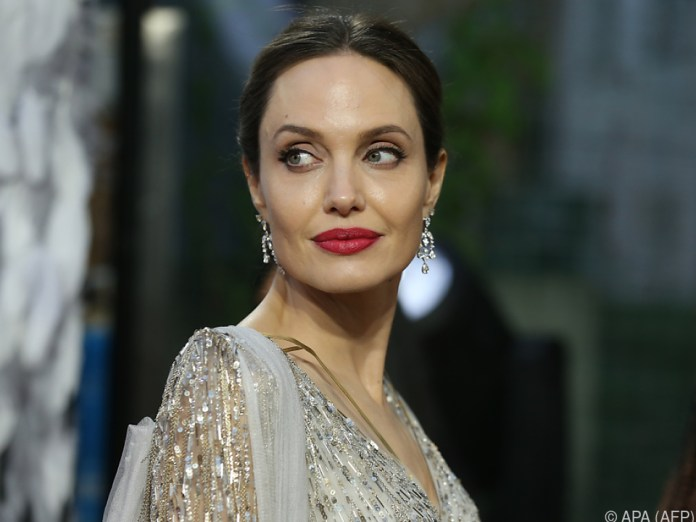 Hollywood Star Angelina Jolie