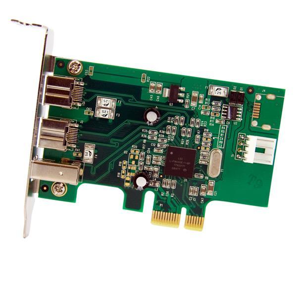 StarTech.com 3 Port 2b 1a Low Profile 1394 PCI Express ...