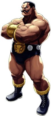 Darun mister from Street fighter EX series