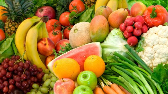 Buah dan sayuran. (shutterstock)