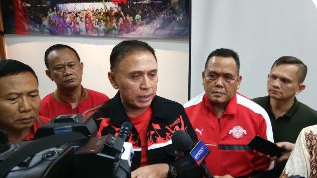 Ketua Umum PSSI Mochamad Iriawan atau Iwan Bule . (Suara.com/ Adie Prasetyo)