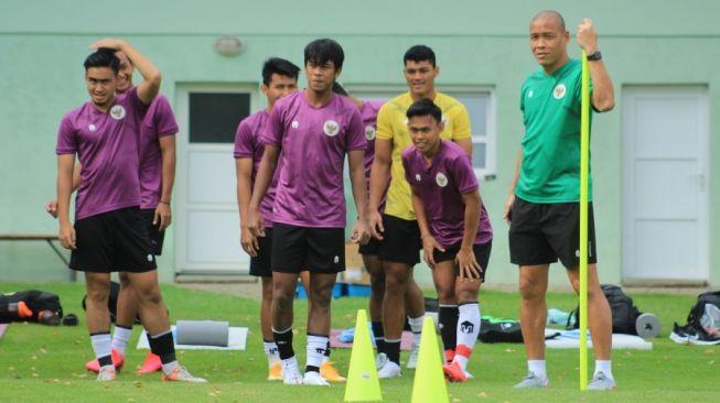 Latihan skuat Timnas Indonesia U-19 di Kroasia (dok. PSSI).