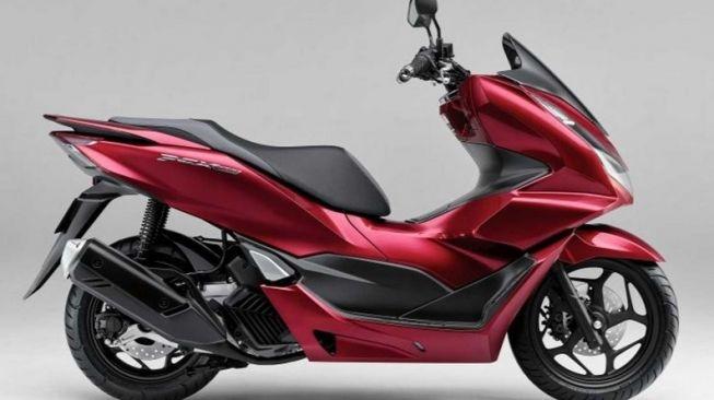 Honda PCX 160 edisi 2021 [Honda via RideApart].