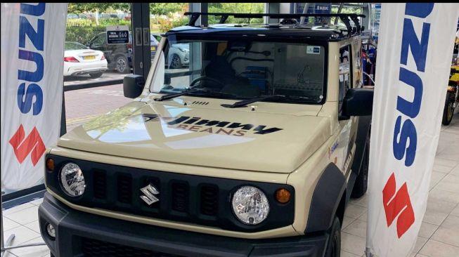 Suzuki Jimny yang bisa digunakan untuk jualan kopi keliling (Motor1.com)