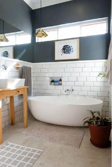 Material alam untuk aksen modern pada rumah. (Foto: Apartment Therapy)