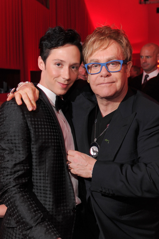 Johnny Weir Elton John