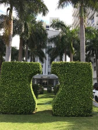 Vårt häftiga hotell Royal Palm South Beach