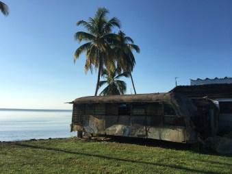 S.k husvagn - modell äldre i Guama