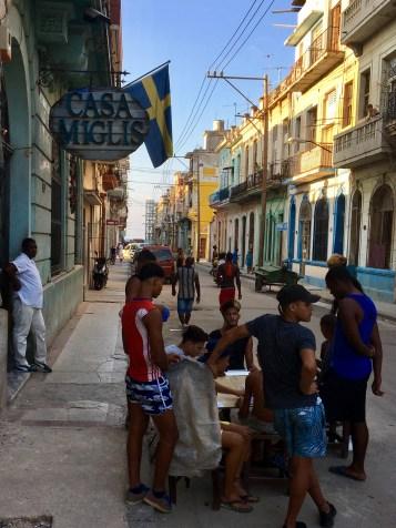 Svensk restaurang i Havanna