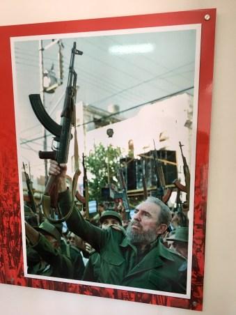 Fidel besegrade amerikanarna