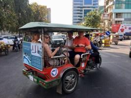 Tuk-tuk i Phnom Penh