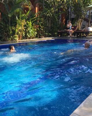 Eric kan simma nu!