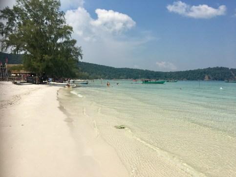 Härlig strand Kom Rong