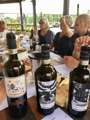 Besök på vingård