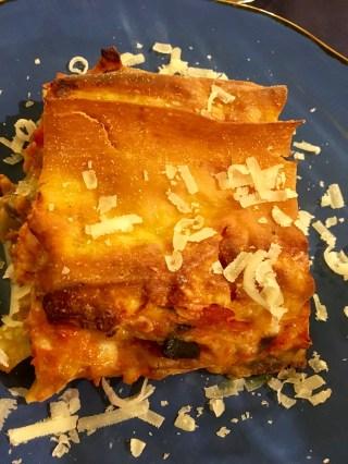 Vegetarisk lasagne - mumsmums