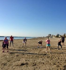 Strandträning - HIIT