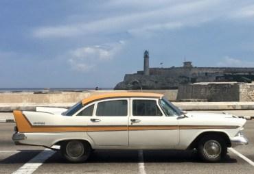 Fortet i Havanna i bakgrunden