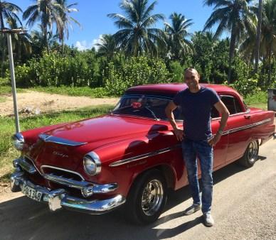 Vår bil - Miguel kör