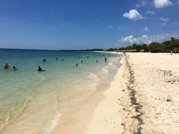 Beachen i Trinidad