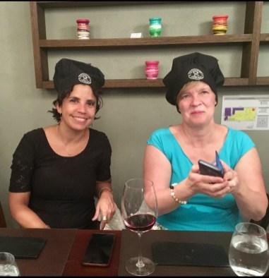 Nadia och Ann-Catrin