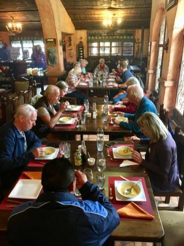 Lunch på hacienda