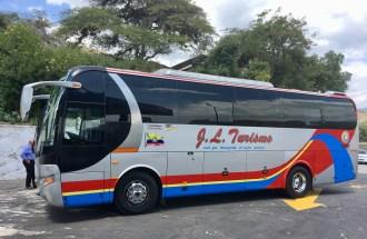 Vår fina buss