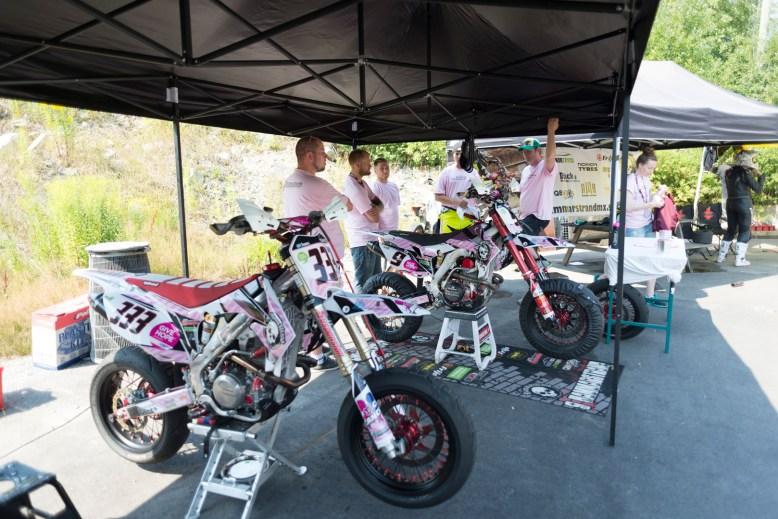 Hammarstrand Racing stöttade Barncancerfonden