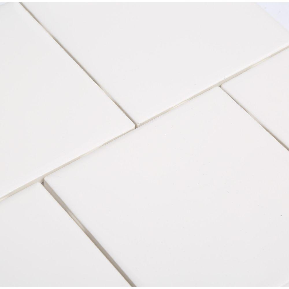 4 1 4 x 4 12 inch white ceramic wall tile