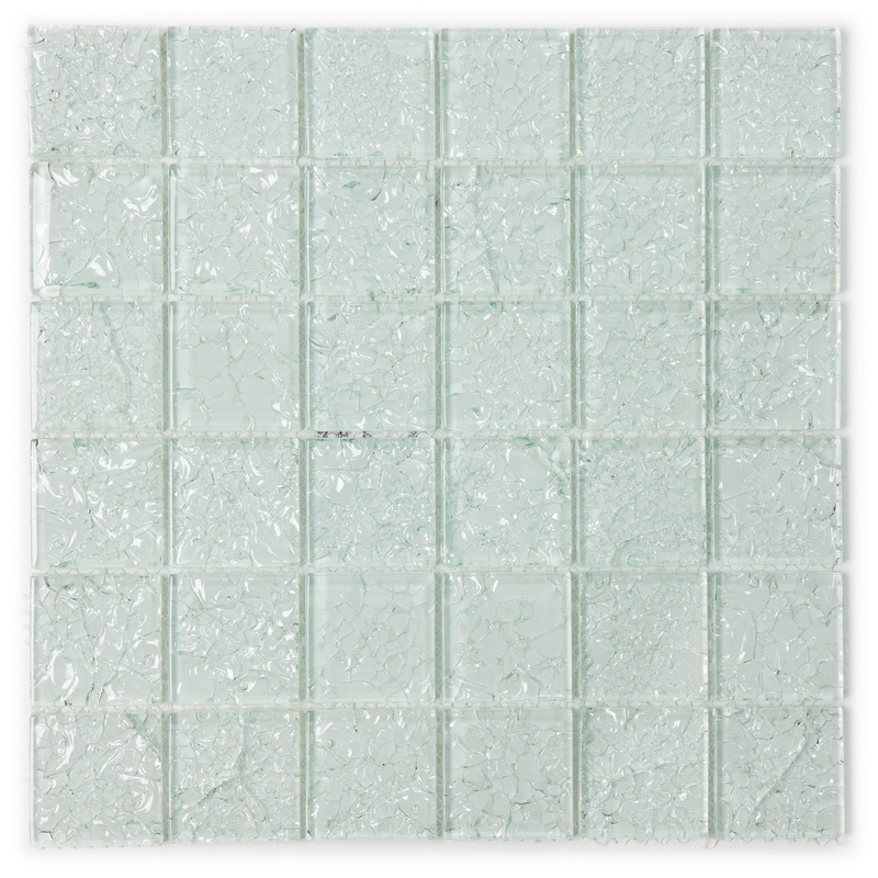 crackle glass collection i130 12x12 in glass mosaic tile sheet