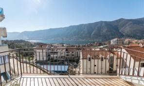 Prodaja – jednosoban stan sa panoramskim pogledom na more – Dobrota, Kotor