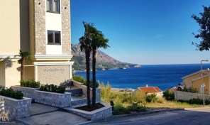 Dvosoban apartman sa panoramskim pogledom na more – Budva, Becici